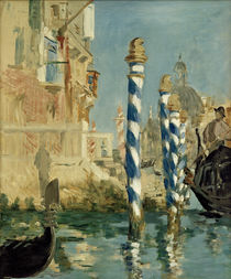 E.Manet, Canal Grande in Venice / painting by AKG  Images