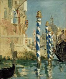 E.Manet, Canal Grande in Venedig von AKG  Images