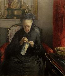 G.Caillebotte, Portrait Mme Caillebotte von AKG  Images