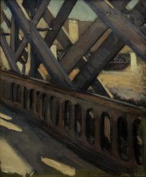 G.Caillebotte, Pont de l'Europe (Studie) von AKG  Images