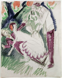 E.L.Kirchner, Pantomime Reimann II von AKG  Images