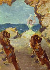 E.Degas, Ballettänzerin 1891 von AKG  Images