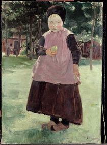 Max Liebermann / Eva (Peasant Girl) 1883 by AKG  Images