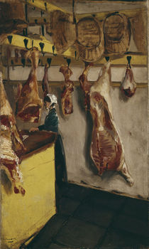 Max Liebermann / Butcher's Shop / 1877 by AKG  Images