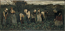 Max Liebermann / Workers in Turnip Field by AKG  Images