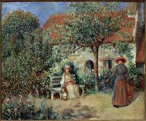 Renoir / Scene du jardin /  c. 1886 by AKG  Images