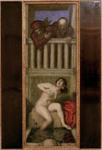 F. v. Stuck, Susanna und die beiden Alten von AKG  Images