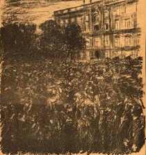 Rede Wilhelms II. 1914 / Liebermann von AKG  Images