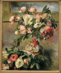 Renoir / Peonies / 1878 by AKG  Images