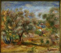 Renoir / Landscape near Cagnes / 1909/10 by AKG  Images