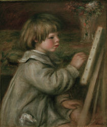 Renoir / Claude Renoir painting / 1907 by AKG  Images