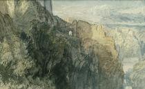 William Turner / Katz Castle / Painting by AKG  Images