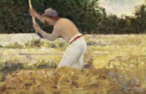 The Stone Breaker / G. Seurat / Painting c.1882 by AKG  Images