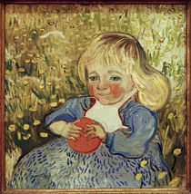 van Gogh, Kind mit Orange von AKG  Images
