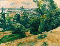 Cezanne / L'Aquedux du canal Verdon/c. 1883 by AKG  Images