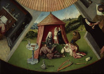 The Seven Deadly Sins and the Four Last Things / H. Bosch / c.1480/90 by AKG  Images