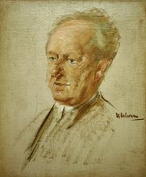Gerhart Hauptmann / Liebermann painting by AKG  Images