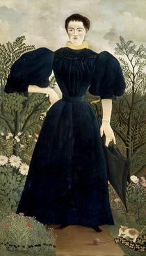 Rousseau, H. / Portrait de femme/ 1895–97 by AKG  Images