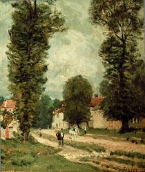 Sisley / La route de Versailles / 1873 by AKG  Images