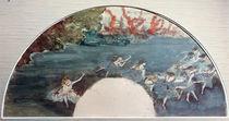 Degas / Fan: La Farandole / 1879 by AKG  Images