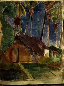 P.Gauguin, Landschaft auf Tahiti von AKG  Images