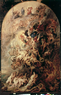 P.P. Rubens, The Day of Judgement c. 1620 by AKG  Images