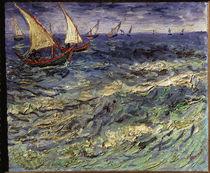 Van Gogh / Fischerboote bei Saintes-Maries von AKG  Images