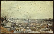Van Gogh / Vue sur Montmartre by AKG  Images