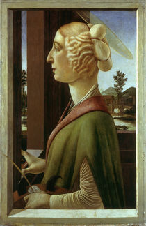 Botticelli / Saint Catherine by AKG  Images