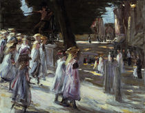 Liebermann / Going to school in Edam by AKG  Images