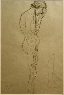 G.Klimt, Stehende alte Frau im Profil by AKG  Images