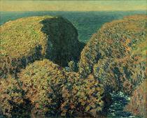 C.Monet, Bloc de Rochers, Belle Ile by AKG  Images