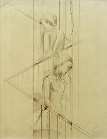 O.Schlemmer, Treppenszene von AKG  Images