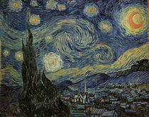 Van Gogh / Starry Night / 1889 by AKG  Images