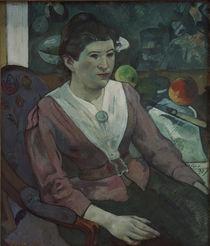 P.Gauguin, Frau vor Stilleben Cézannes by AKG  Images