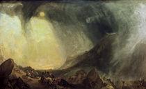 W.Turner, Schneesturm: Hannibal by AKG  Images