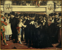 E.Manet, Maskenball in der Oper by AKG  Images