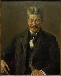 Georg Brandes / Paint. / Liebermann/ 1902 by AKG  Images
