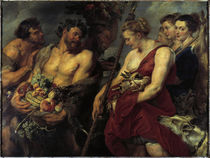 Rubens / Diana's Return from the Hunt by AKG  Images