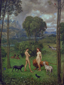 H.Thoma, In the Garden of Eden by AKG  Images