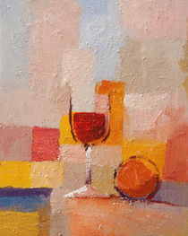 Glass of wine by arte-costa-blanca