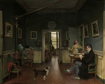 M.Drolling, Interior / Painting 1816 by AKG  Images
