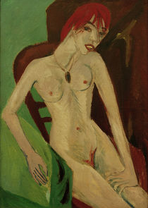 E.L.Kirchner / Red-haired Nude by AKG  Images