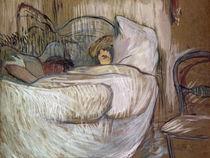 H. de Toulouse-Lautrec, Im Bett von AKG  Images