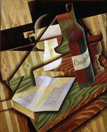 Juan Gris / The Book / 1915 by AKG  Images