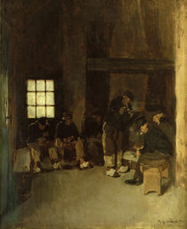 Max Liebermann, In der Lotsenstube by AKG  Images