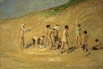 Max Liebermann, Jungen nach dem Bade von AKG  Images