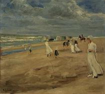 Max Liebermann, Strand bei Noordwijk von AKG  Images