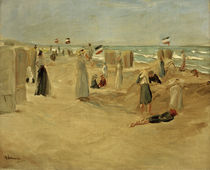 Max Liebermann, Am Strand von Noordwijk by AKG  Images