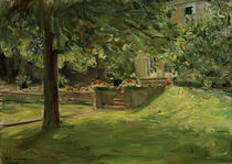 """M.Liebermann, """"Flower terrace to the south-west..."""" / painting by AKG  Images"""